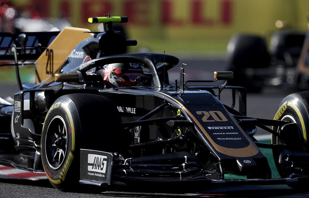 """""""Haas"""" Ostine išbandys 2020 metų priekinį sparną"""