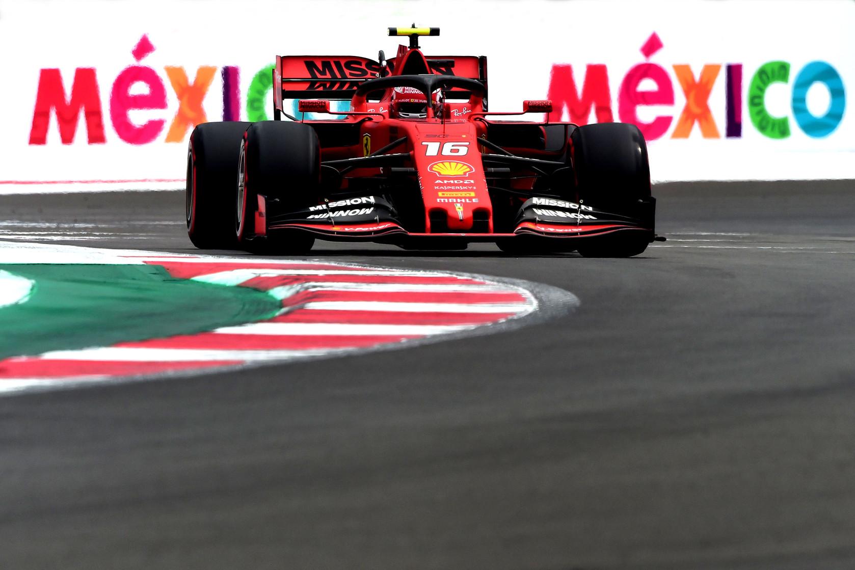 Meksikos GP: šeštadienio treniruotė
