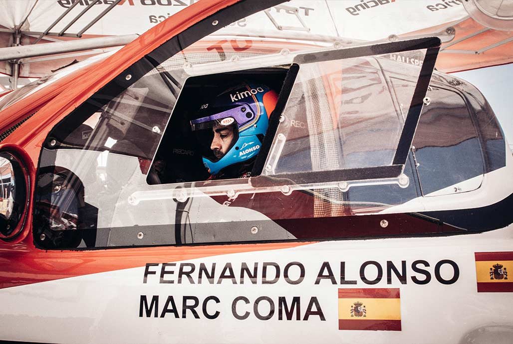 F. Alonso: neplanuoju kasmet startuoti Dakaro ralyje