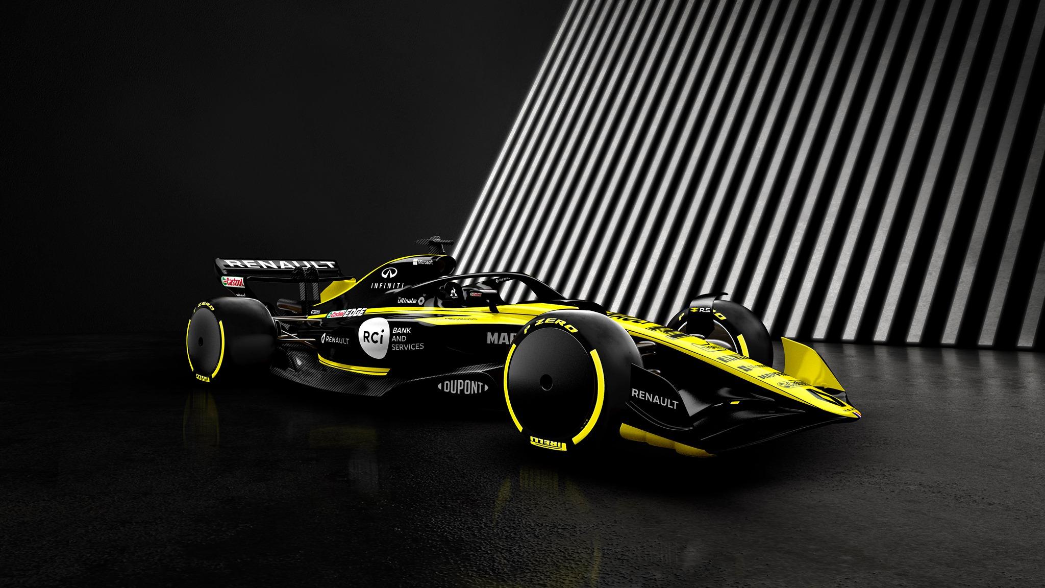 """""""Renault"""" teigiamai įvertino 2021 m. F-1 taisykles"""