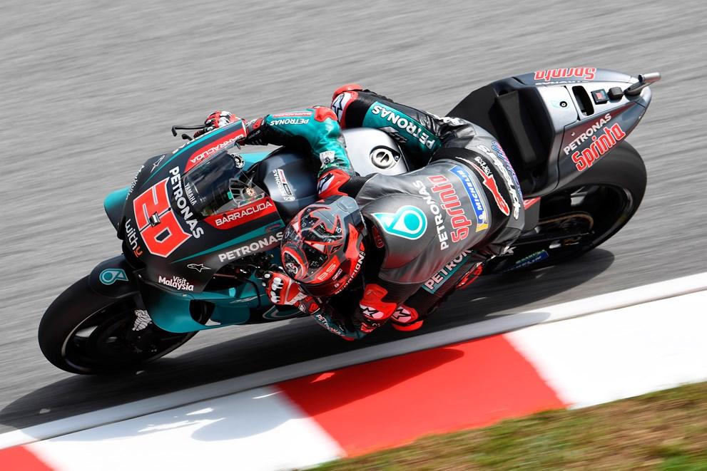 """MotoGP. Sepange penktąją """"pole"""" poziciją iškovojo F. Quartararo"""