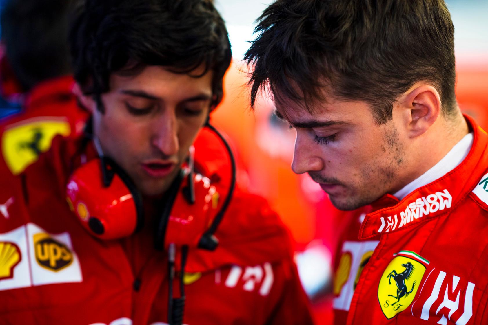 "C. Leclercas patenkintas savo pirmuoju sezonu ""Ferrari"" gretose"