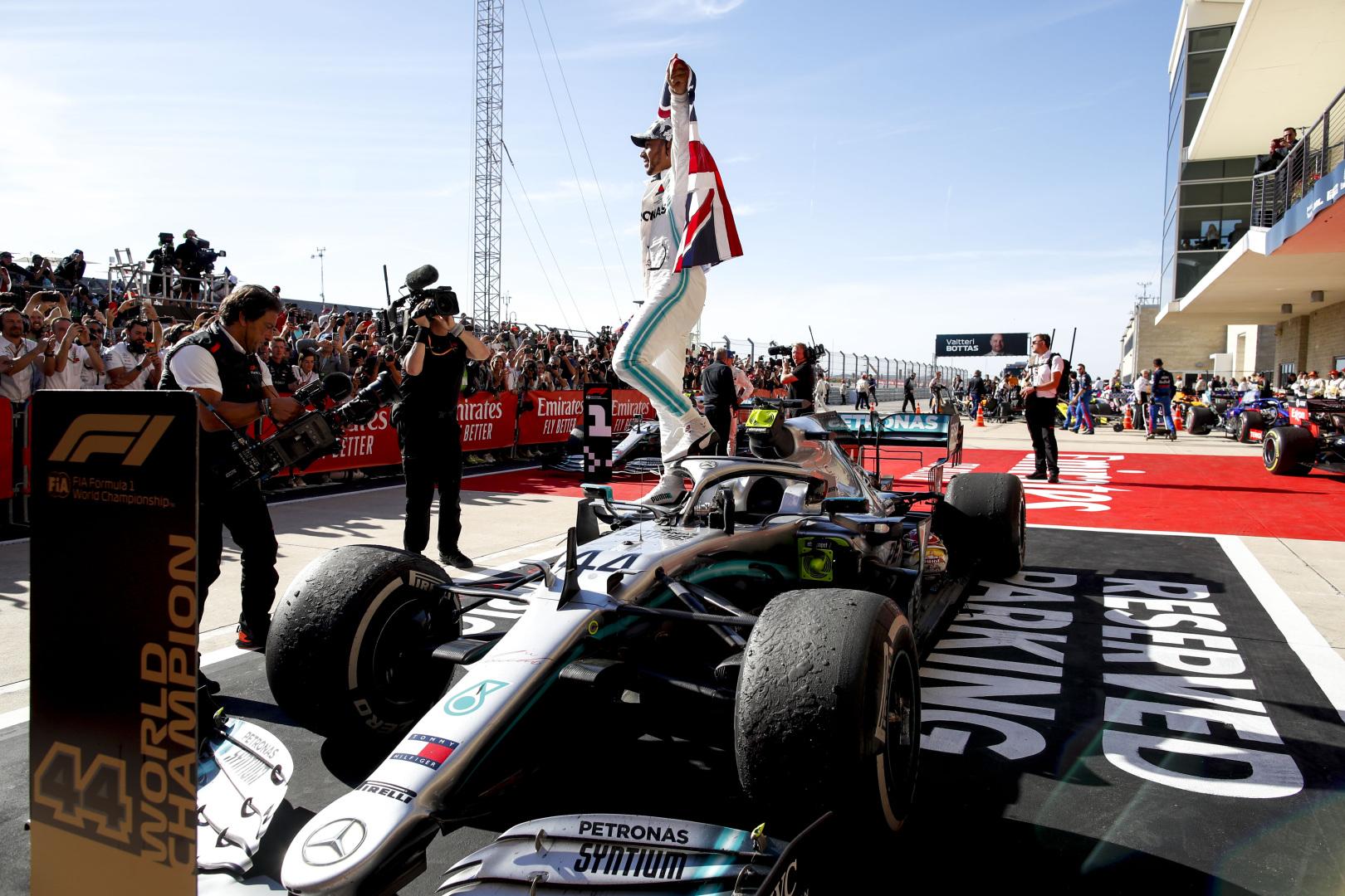 J. Palmeris: L. Hamiltonas tapo čempionu pilotuodamas geriausią bolidą