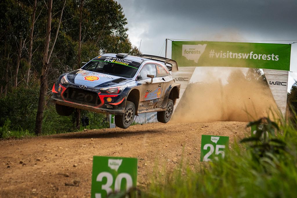 WRC. Dėl gaisrų atšauktas Australijos ralis