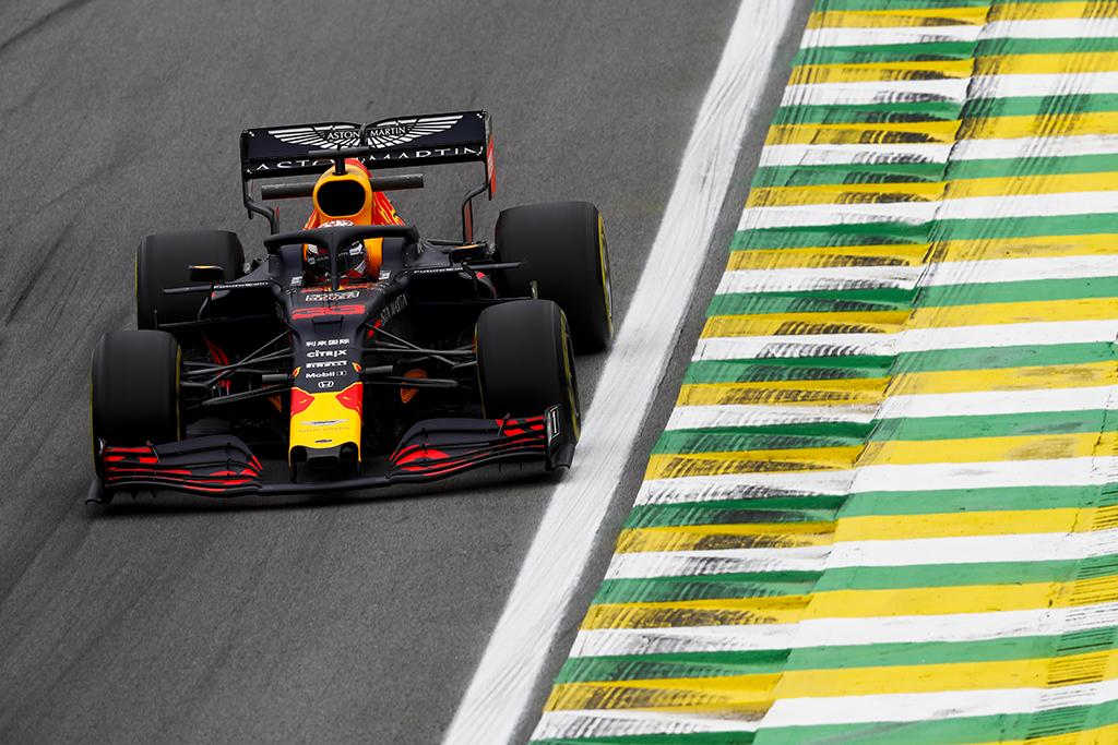 "Brazilijoje antrąją ""pole"" poziciją iškovojo M. Verstappenas"