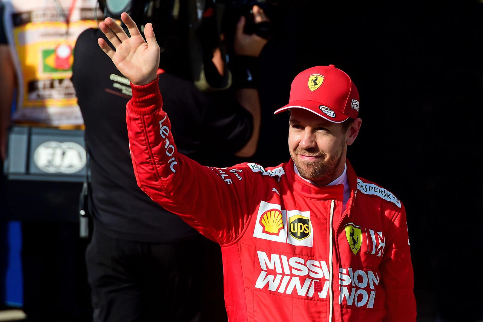 "Oficialu: S. Vettelis po sezono paliks ""Ferrari"""