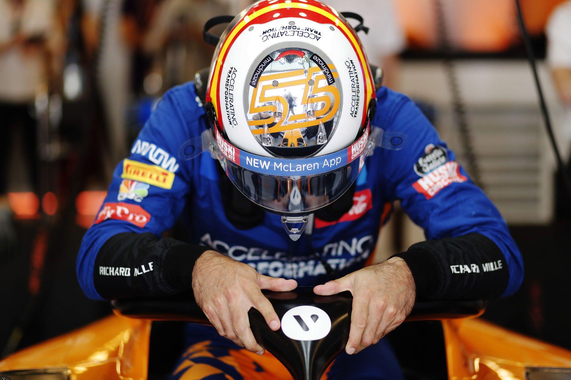 C. Sainzas liko nusivylęs savo pasirodymu kvalifikacijoje