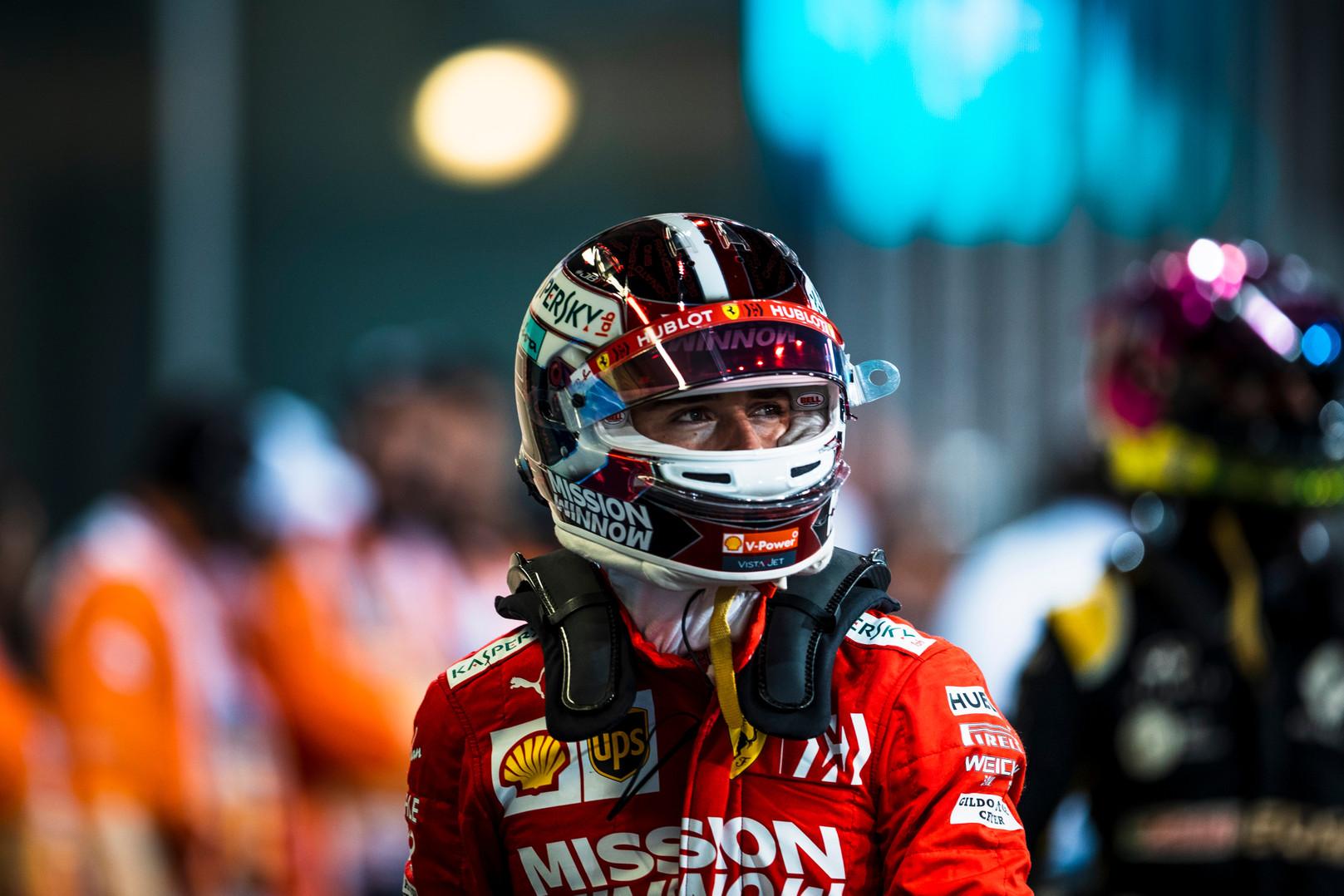 C. Leclercas: iš Vettelio išmokau labai daug svarbių dalykų