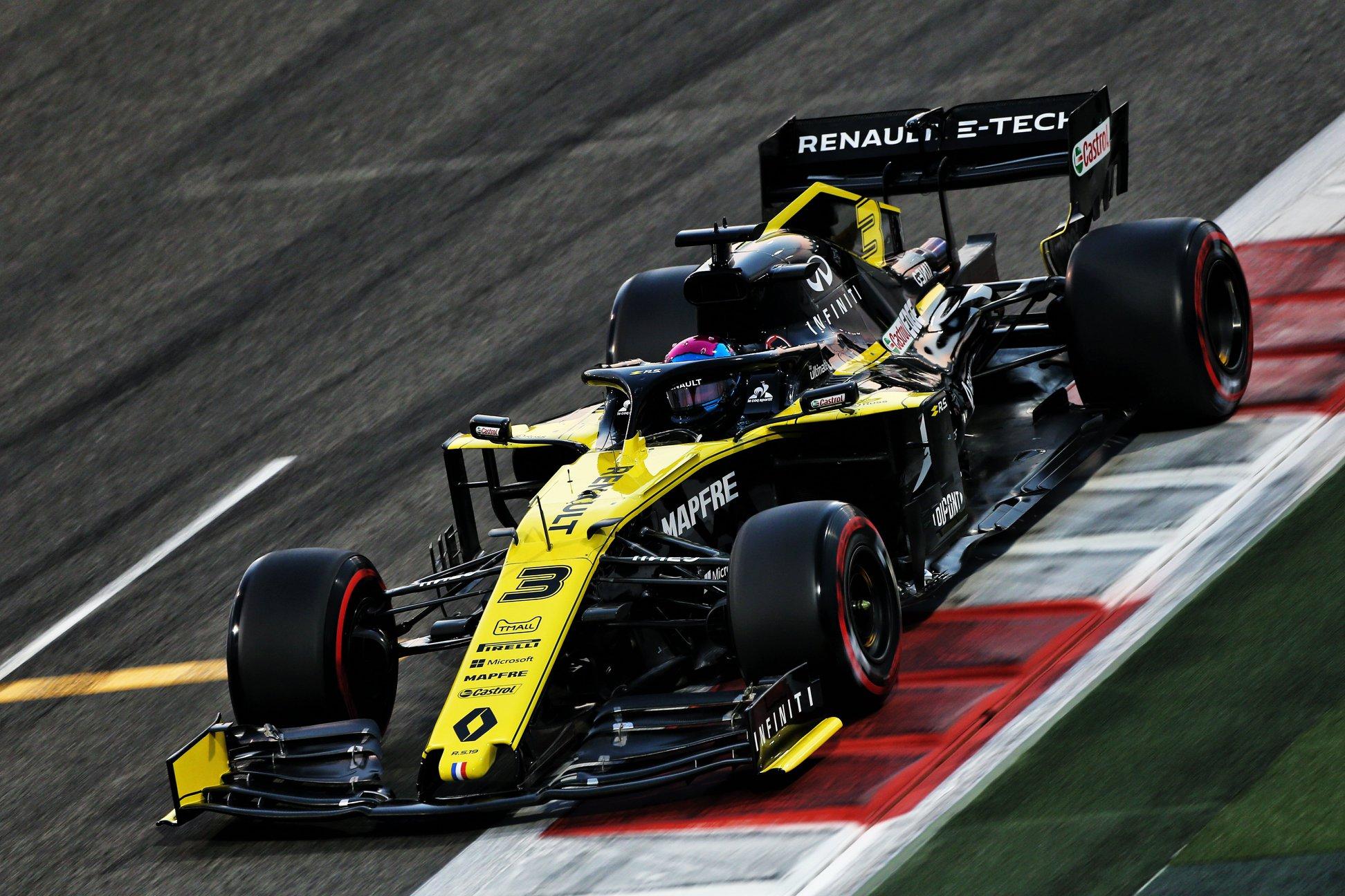C. Abiteboulas: požiūris į D. Ricciardo visai nepasikeitė