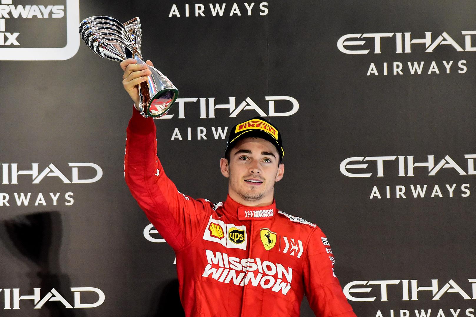 """Oficialu: """"Ferrari"""" pratęsė kontraktą su C. Leclercu"""