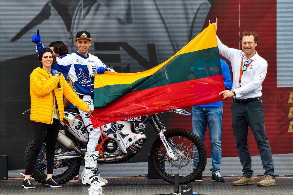 """Dakaras. A. Gelažninkas: esu pasiruošęs startuoti """"vienišių"""" klasėje"""