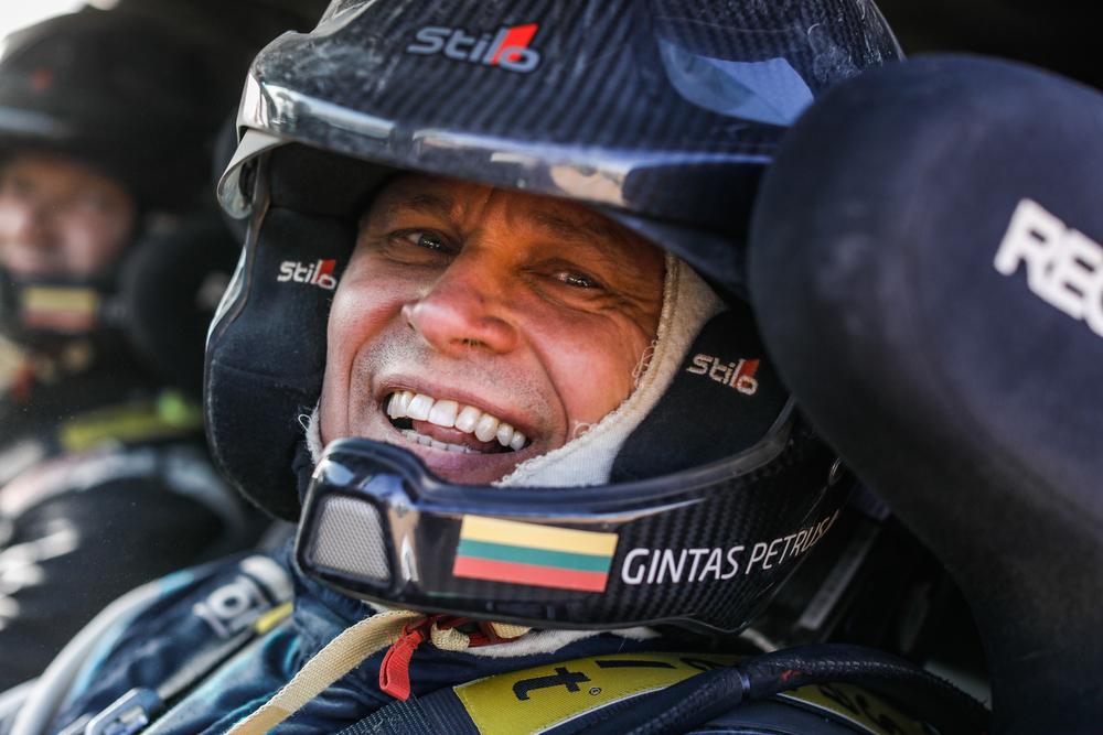 Dakaras. G. Petrus pristatė naują bolidą