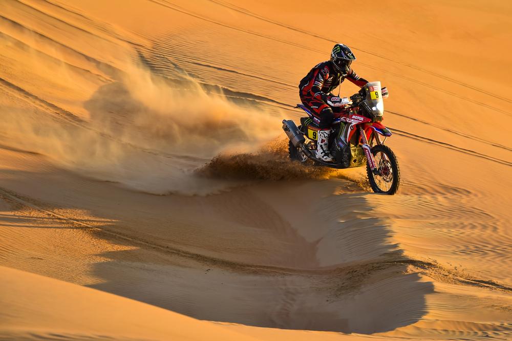 Dakaras. Motociklų įskaitoje triumfavo R. Brabecas