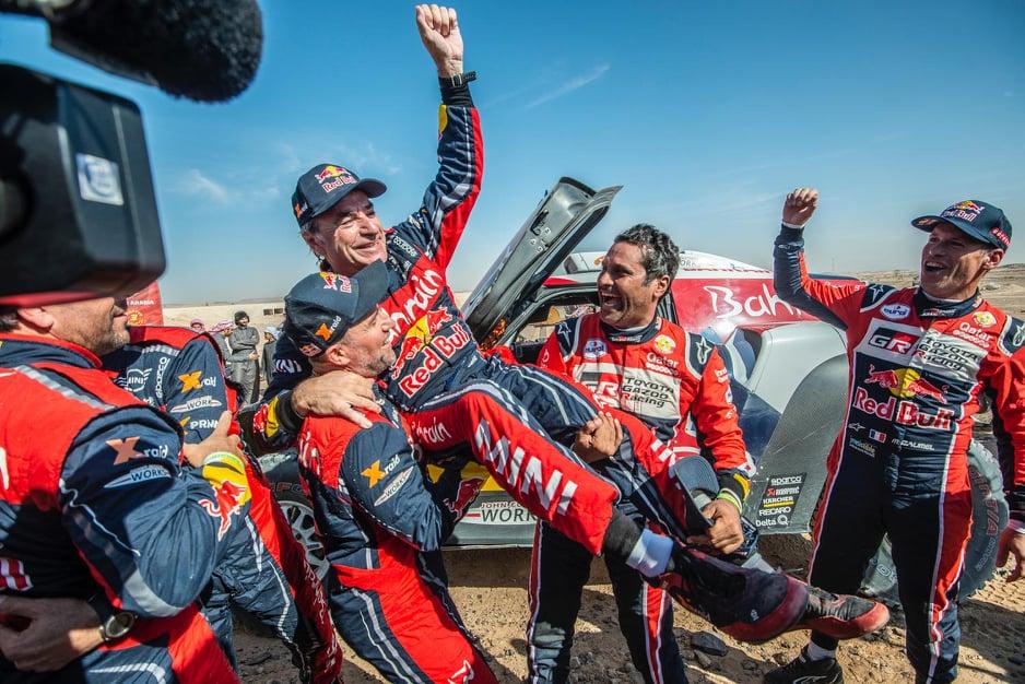 Dakaras. C. Sainzas trečią kartą laimėjo Dakaro ralį