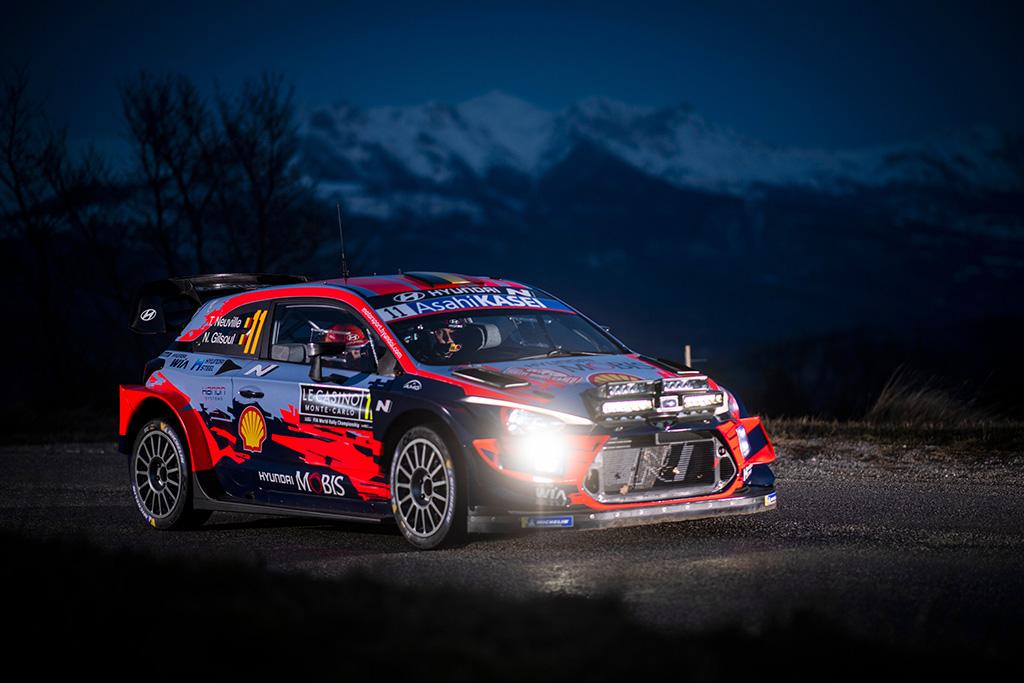 WRC. Monte Karlo ralį sėkmingai pradėjo T. Neuville'is