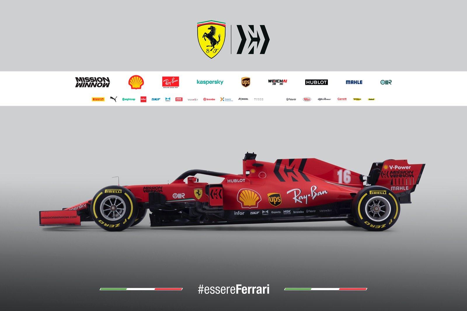 "Naujojo ""Ferrari SF1000"" techniniai ypatumai"