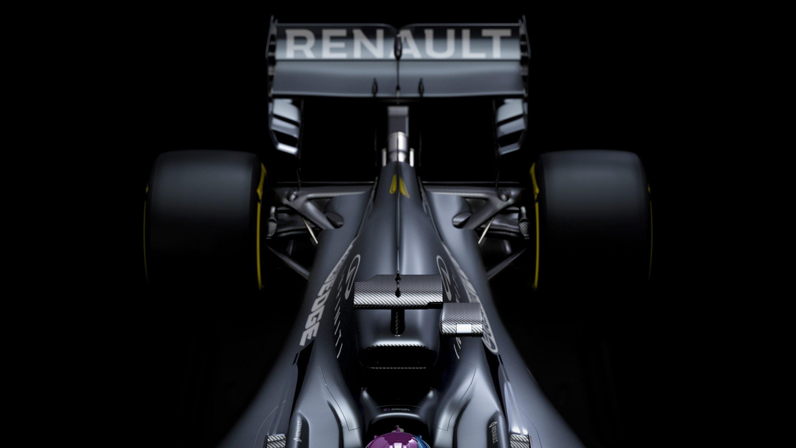 """""""Renault"""" pasidalino naujojo bolido detalėmis"""
