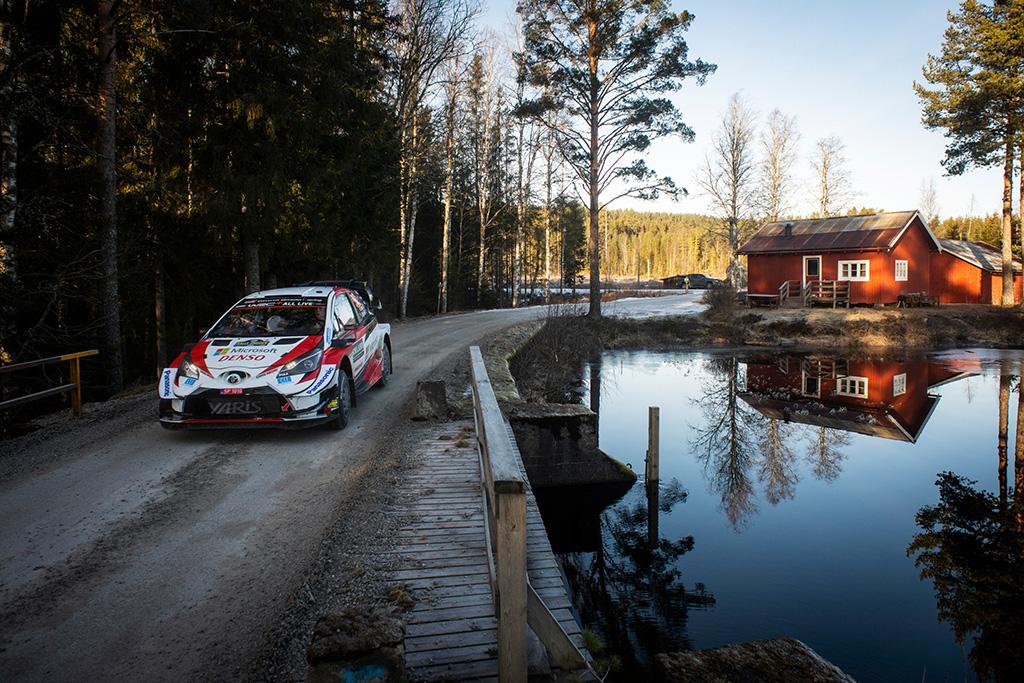 WRC. E. Evansas sėkmingai pradėjo Švedijos ralį