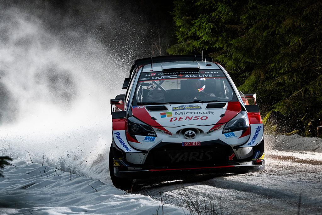 WRC. E. Evansas išlieka Švedijos ralio lyderiu