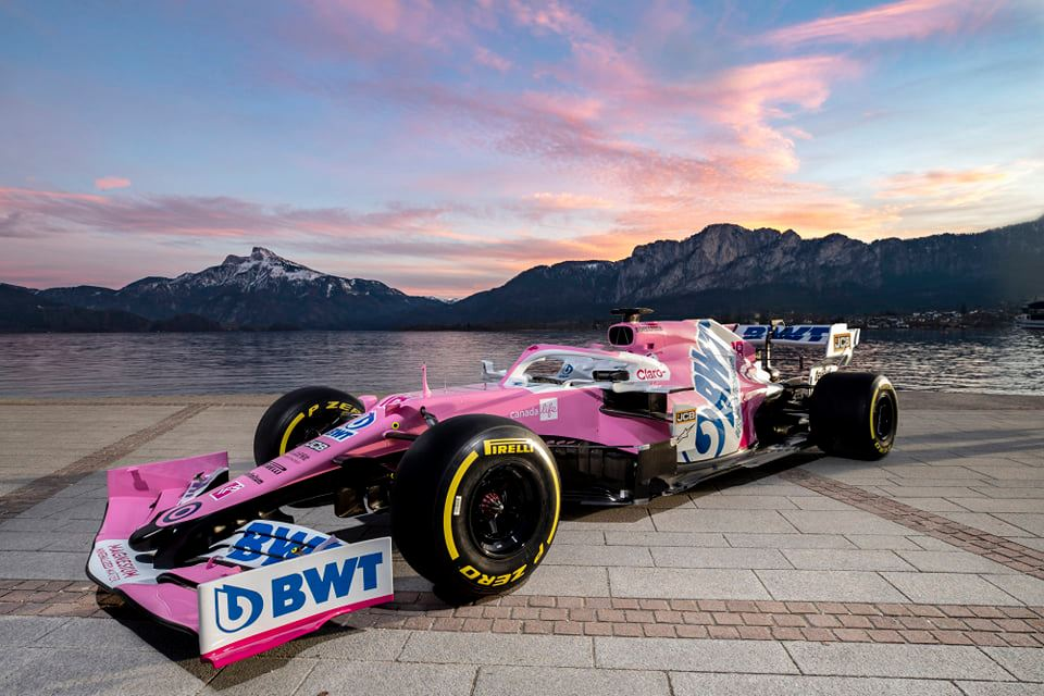 """""""Racing Point"""" pristatė artėjančio sezono bolidą"""