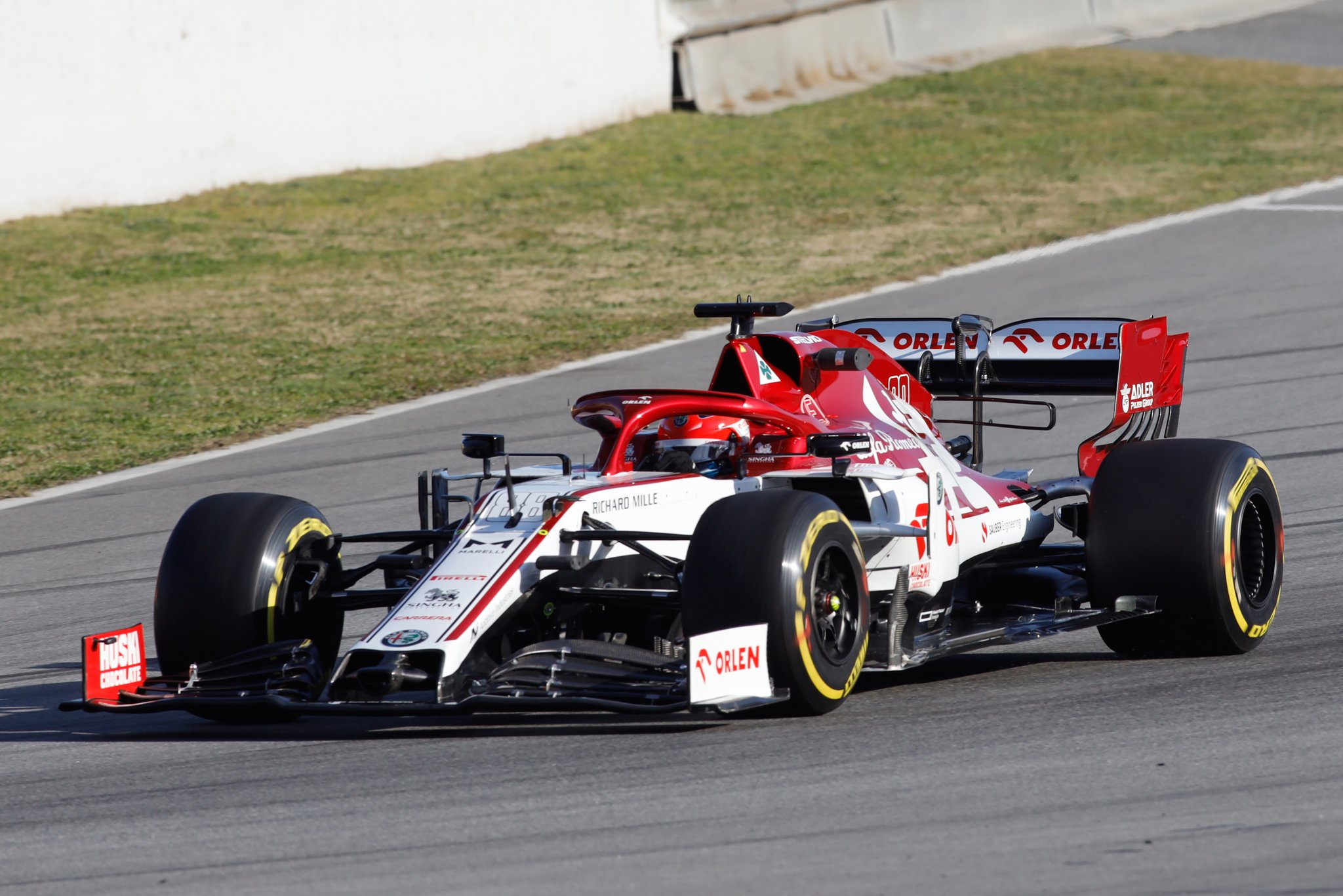 Trečiadienio rytą Barselonoje greičiausias buvo R. Kubica