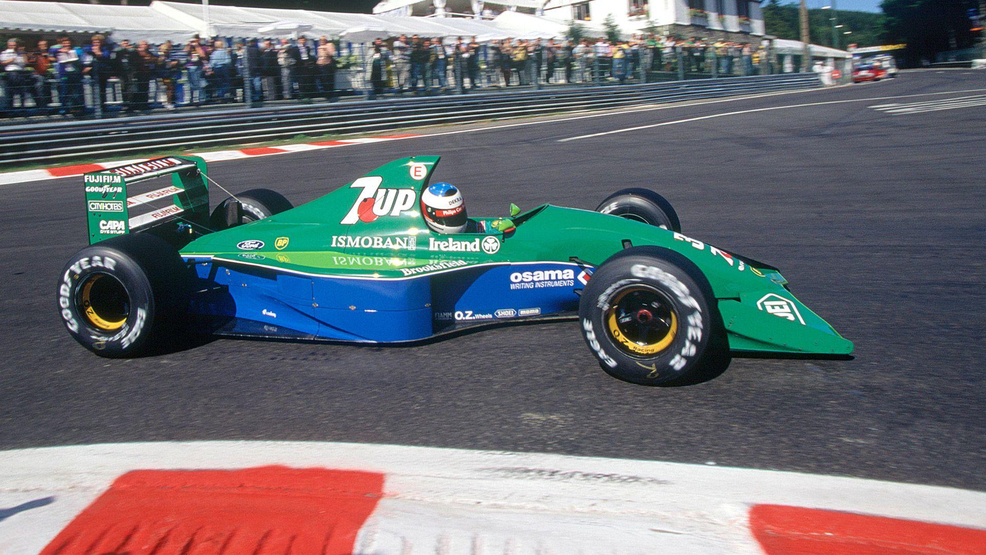 T. Edwardsas prisiminė M. Schumacherio debiutą F-1