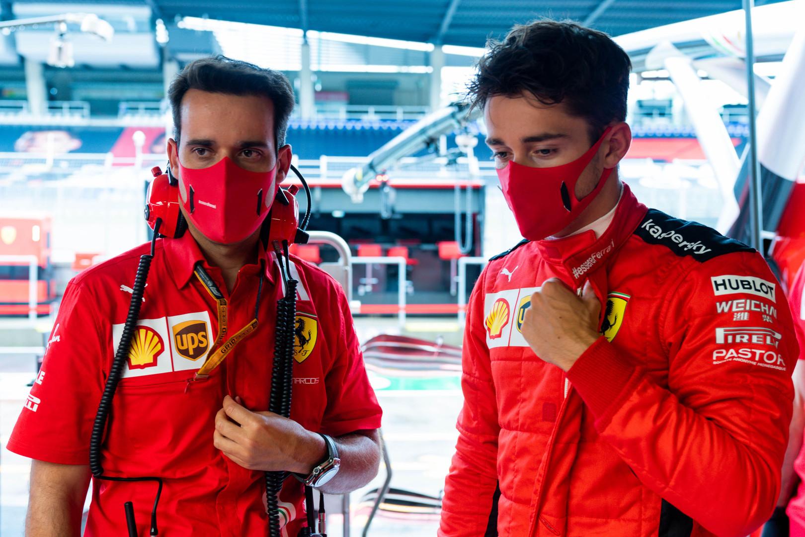 C. Leclercas: šiemet turėsime daugiau sunkumų nei pernai