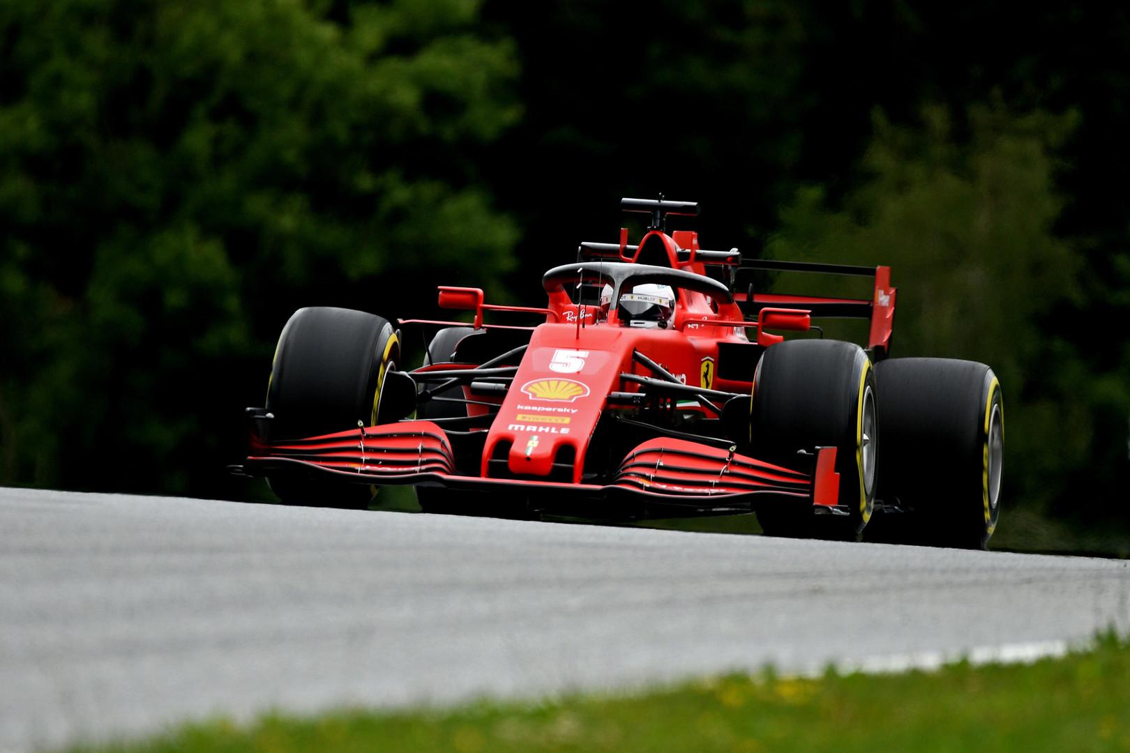 S. Vettelis: mūsų neverta priskirti prie favoritų