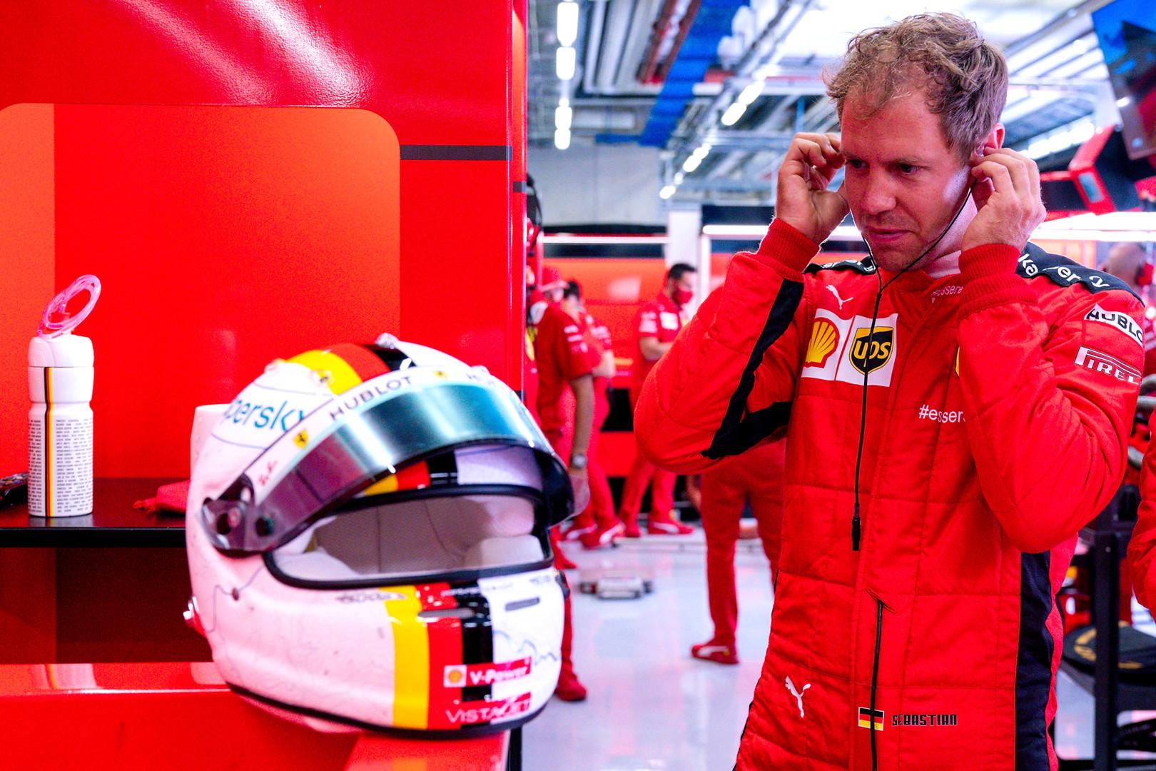 S. Vettelis neskuba apsispręsti dėl ateities