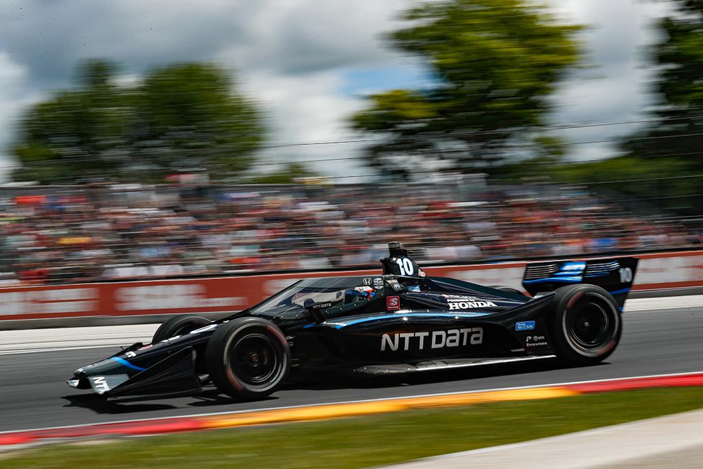 """<span style=""""background:#3f3f3f; color:white; padding: 0 2px"""">IndyCar</span> Pergalę paskutiniuose ratuose išplėšė F. Rosenqvistas"""
