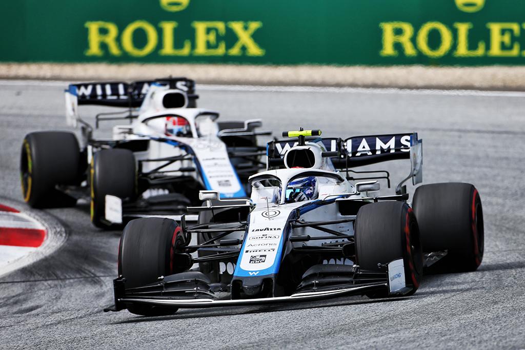 """Sezono rezultatai: """"Williams Racing"""""""