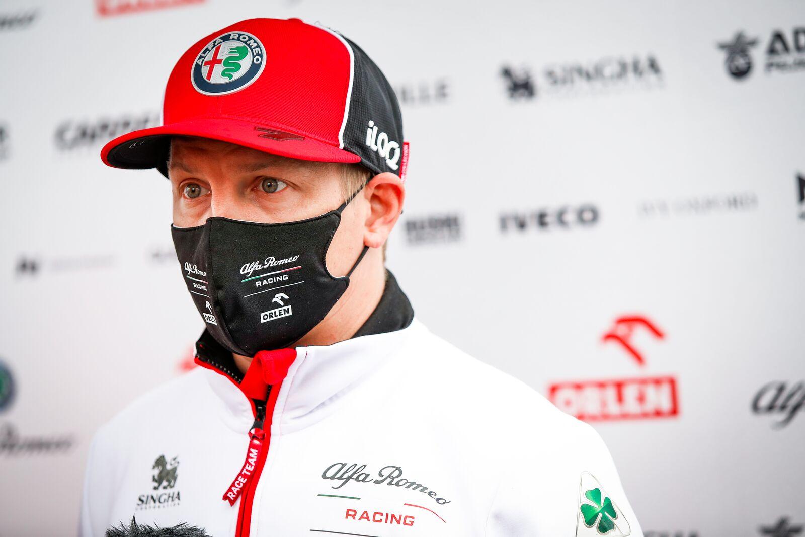 K. Raikkonenas užjaučia S. Vettellį