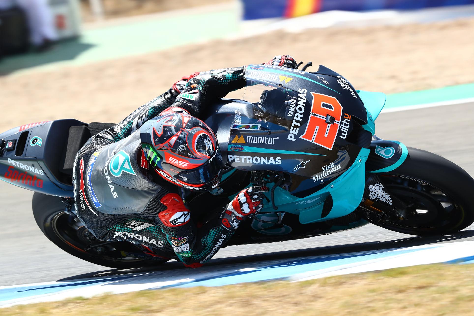 MotoGP. Andalūzijos GP iš pirmos pozicijos pradės F. Quartararo