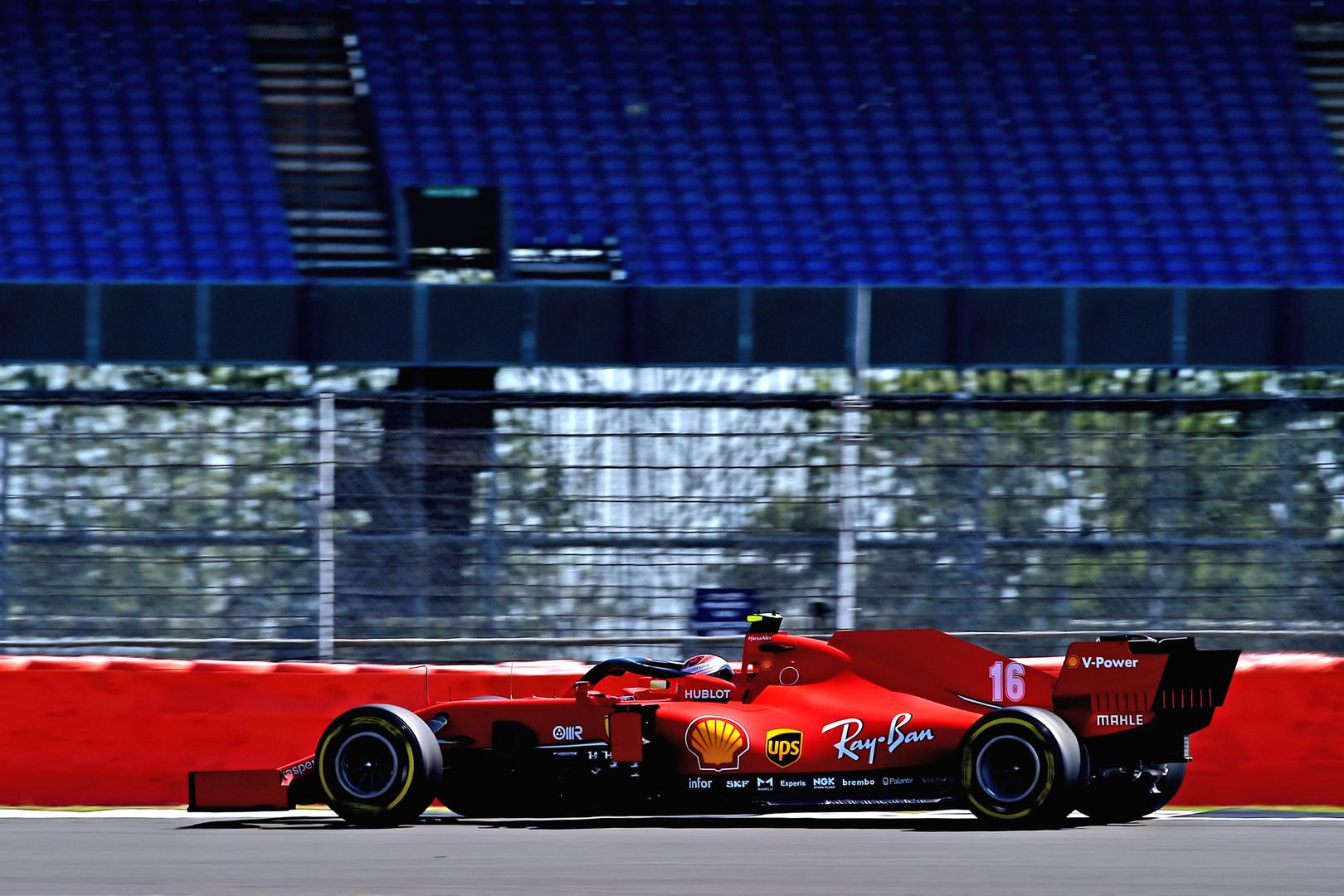 C. Leclercas labai patenkintas ketvirta vieta