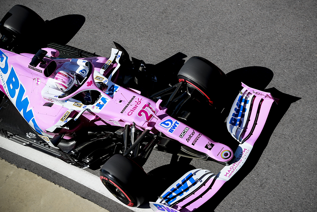 """""""Racing Point"""" komandai - dar vienas įspėjimas"""