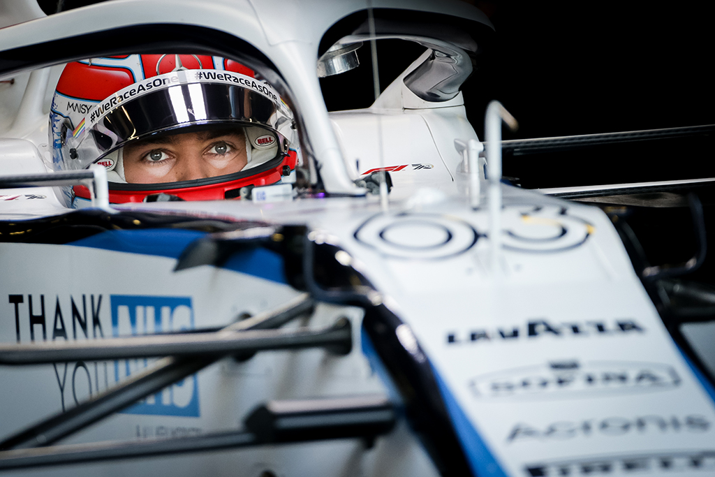 """G. Russellas: esame pajėgūs aplenkti """"Alfa Romeo"""" bei """"Haas"""""""