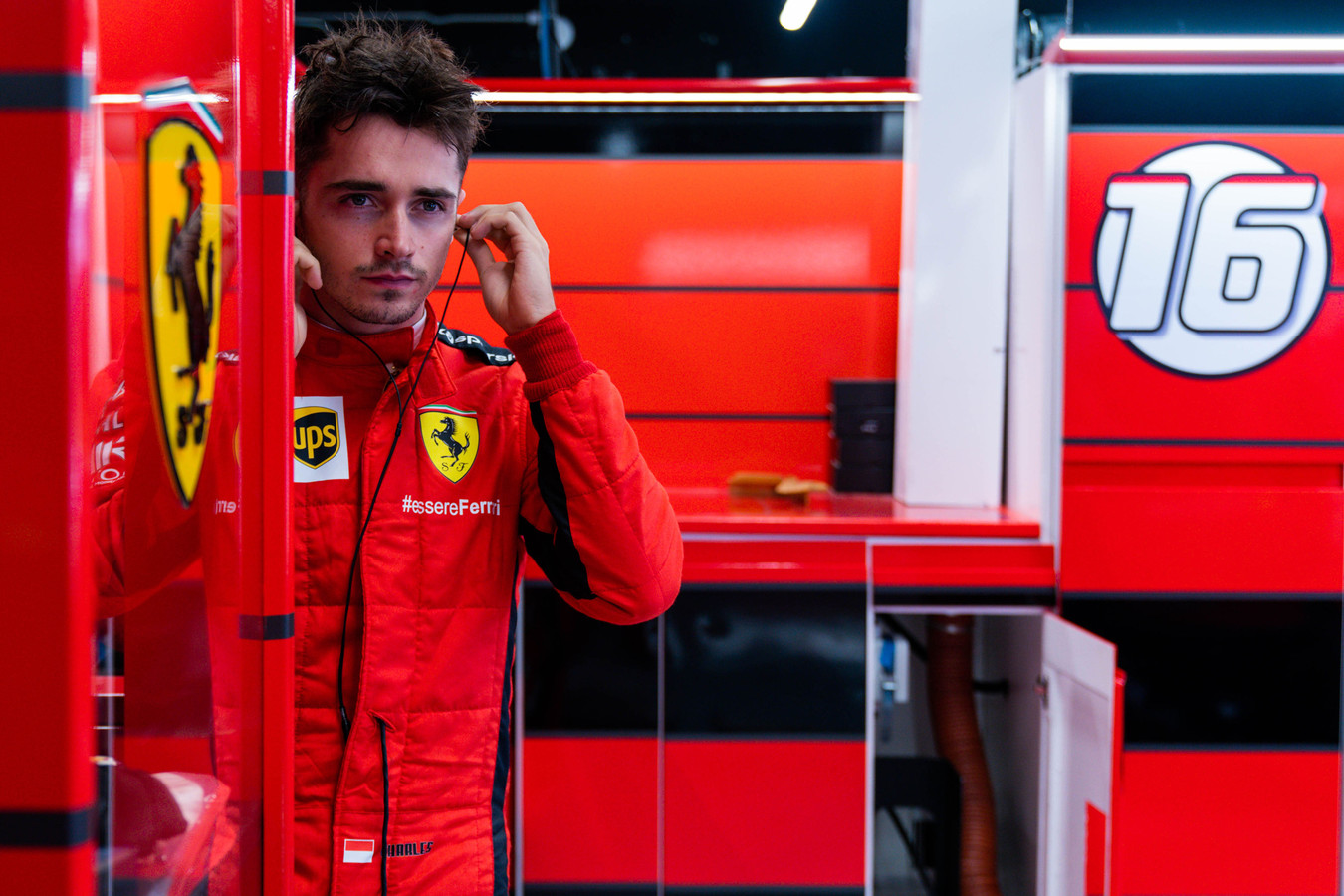 "C. Leclercas: gerėjant ""Ferrari"" tempui - svarbiausia kantrybė"