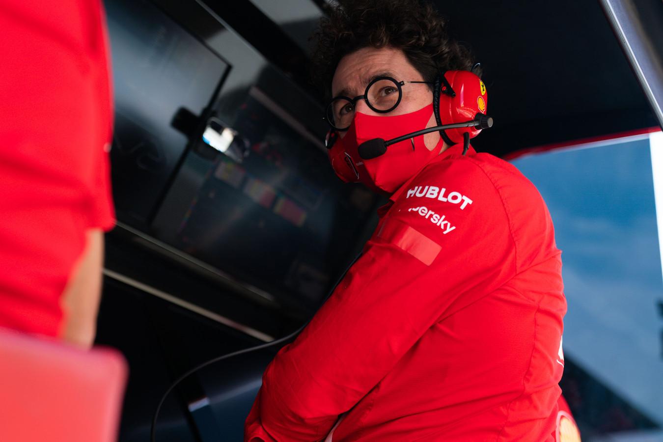 """M. Binotto: """"Ferrari"""" komanda šiuo metu neišgyvena krizės"""
