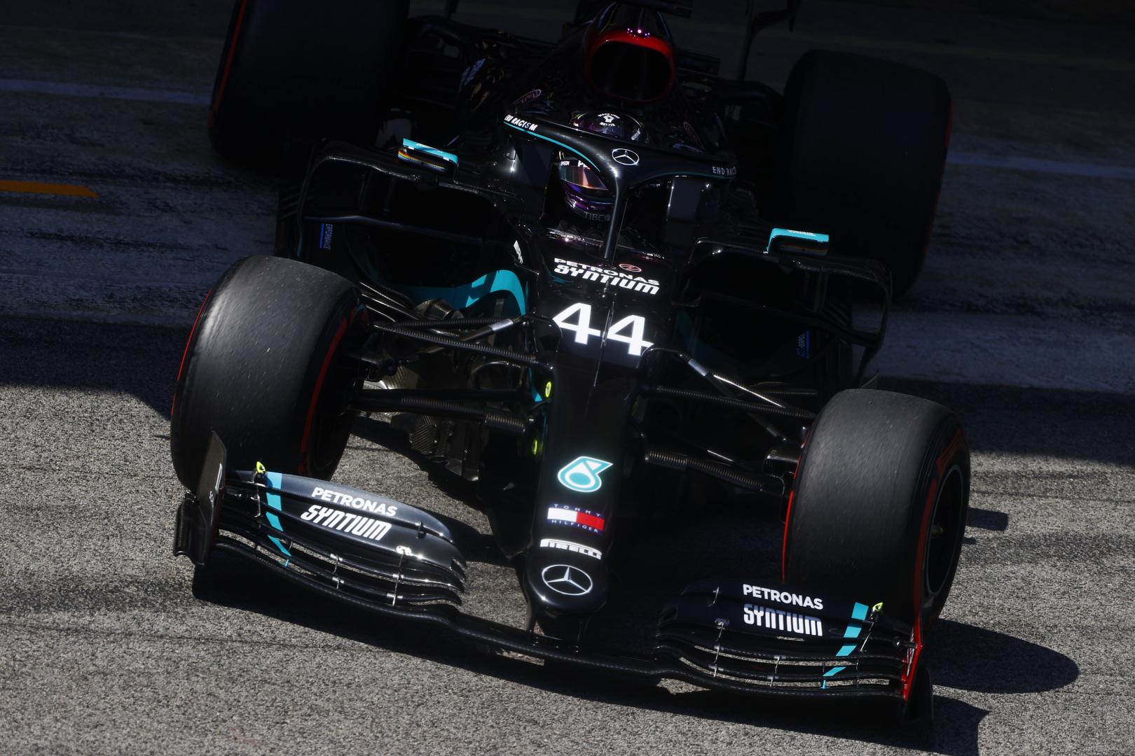 Ispanijos GP: šeštadienio treniruotė