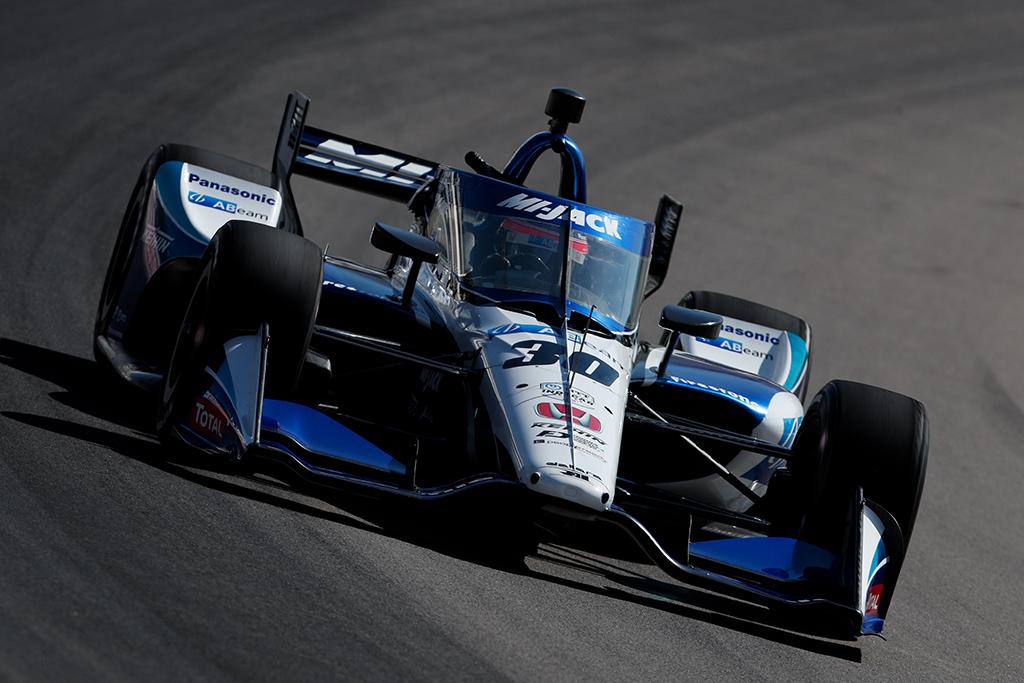 """IndyCar. """"Pole"""" pozicijas St. Luise iškovojo W. Poweris ir T. Sato"""