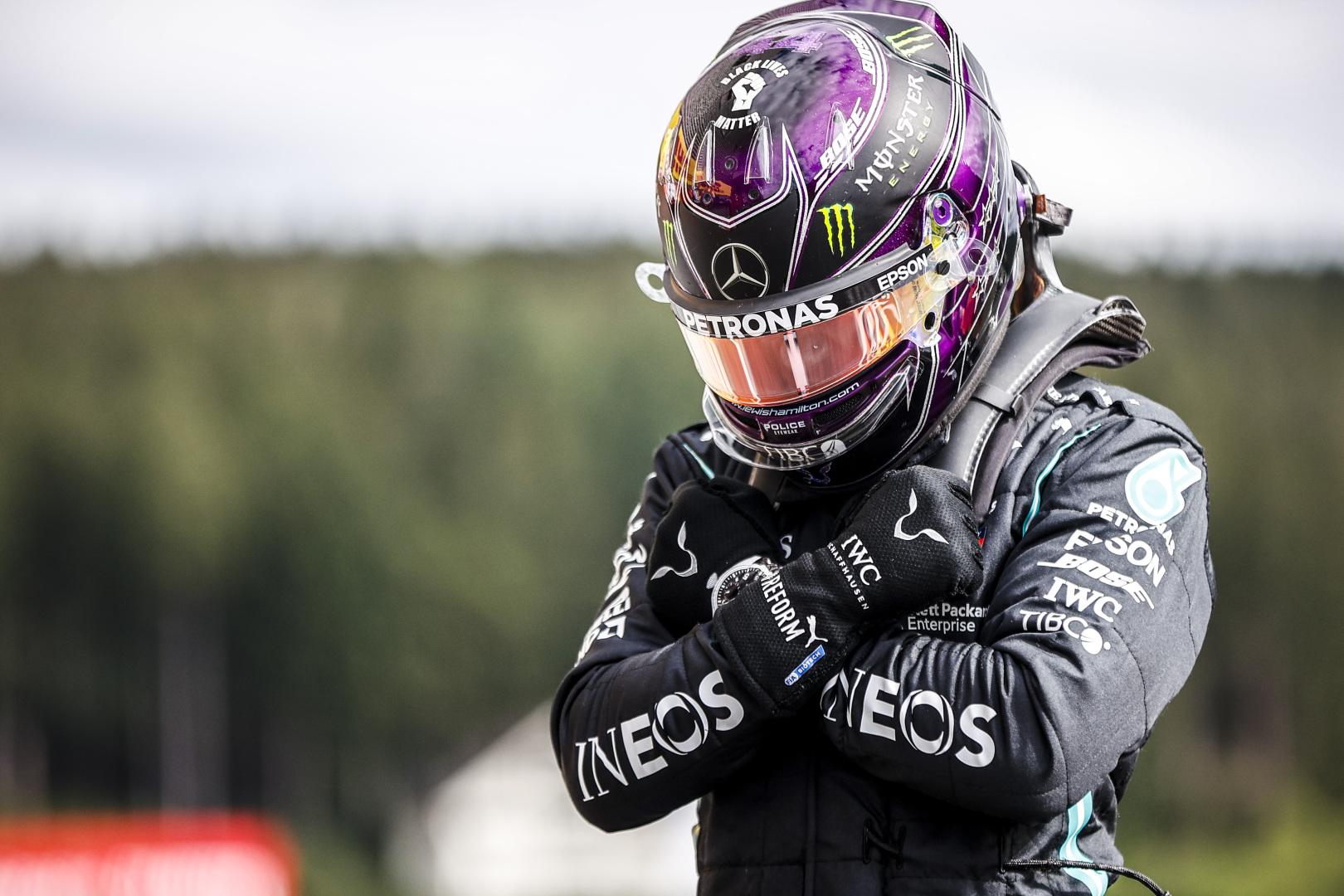 """Belgijoje - naujas trasos rekordas ir dar viena L. Hamiltono """"pole"""""""