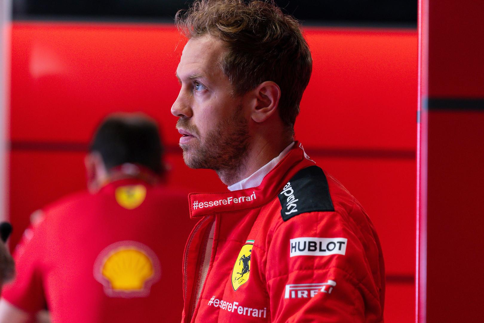 """S. Vettelis: nederėjo veltis į tam tikras kovas atstovaujant """"Ferrari"""""""