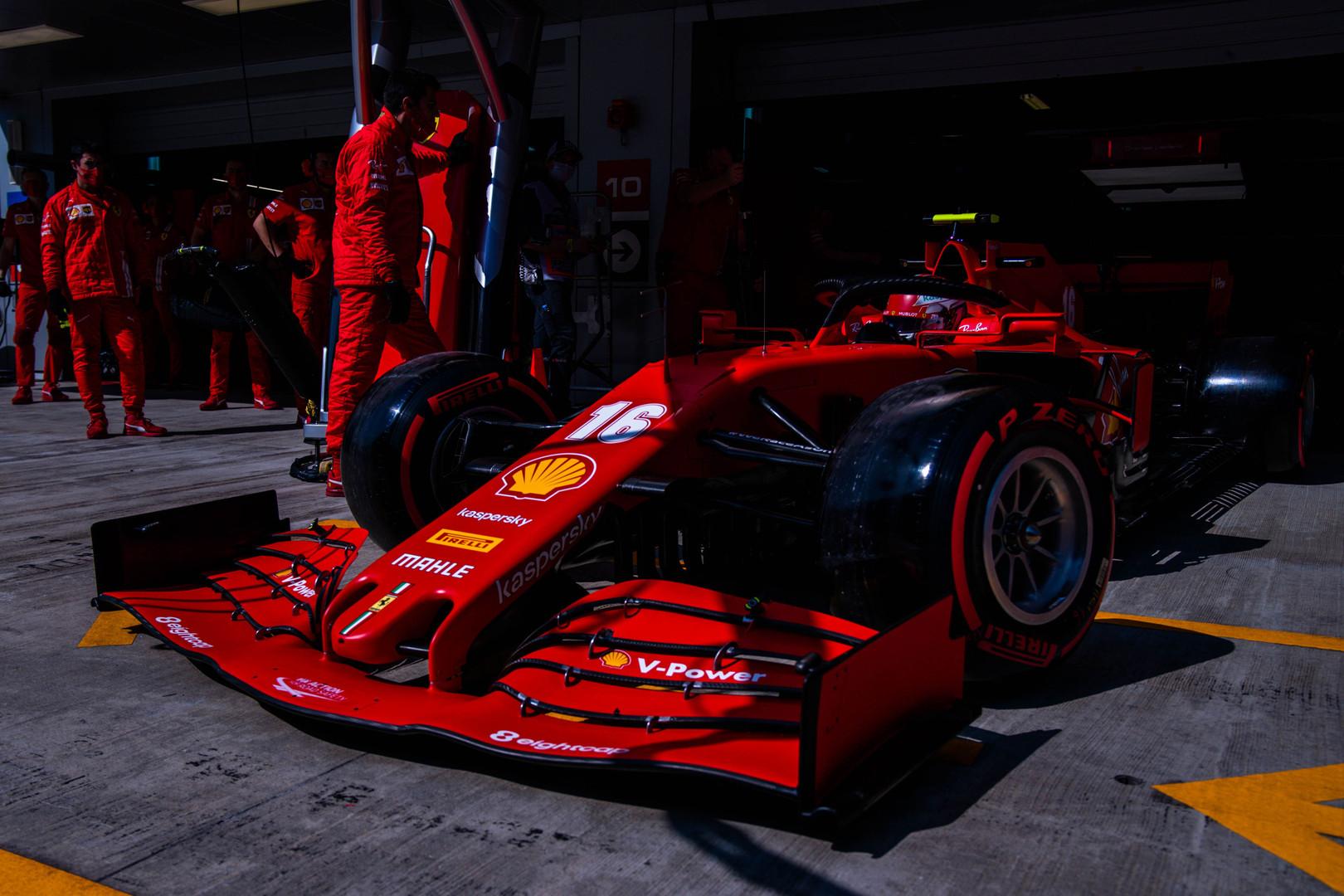 """""""Ferrari"""" Niurburgringe planuoja naudoti atnaujintą bolidą"""