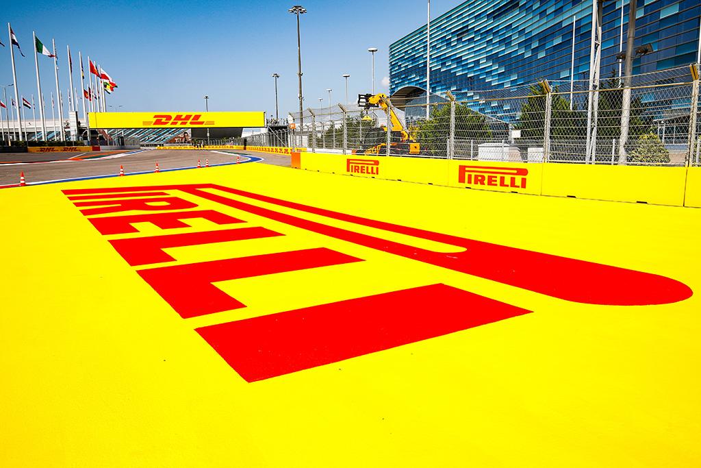 """""""Pirelli"""" laukia vieno sustojimo Sočyje"""