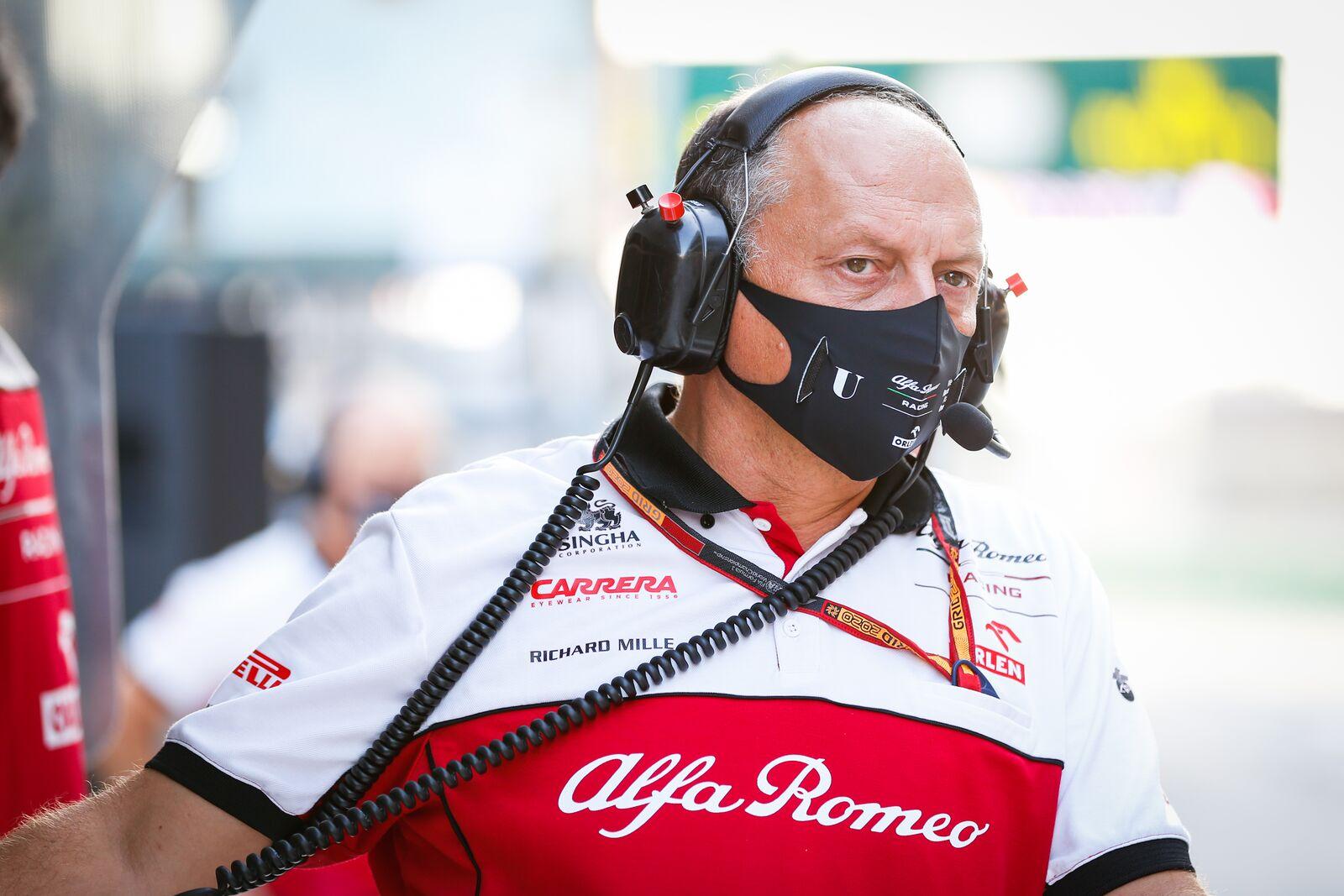 "F. Vasseuras: ""Alfa Romeo"" labai svarbi 8-oji vieta"