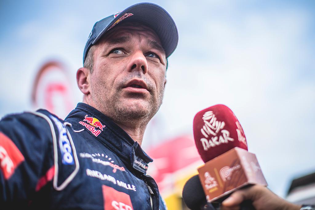 """<span style=""""background:#996633; color:white; padding: 0 2px"""">Dakaras</span> S. Loebas ketina vėl varžytis Dakaro ralyje"""
