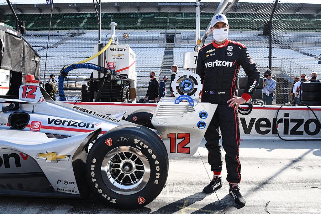 """IndyCar. Indianapolyje """"pole"""" iškovojo W. Poweris"""