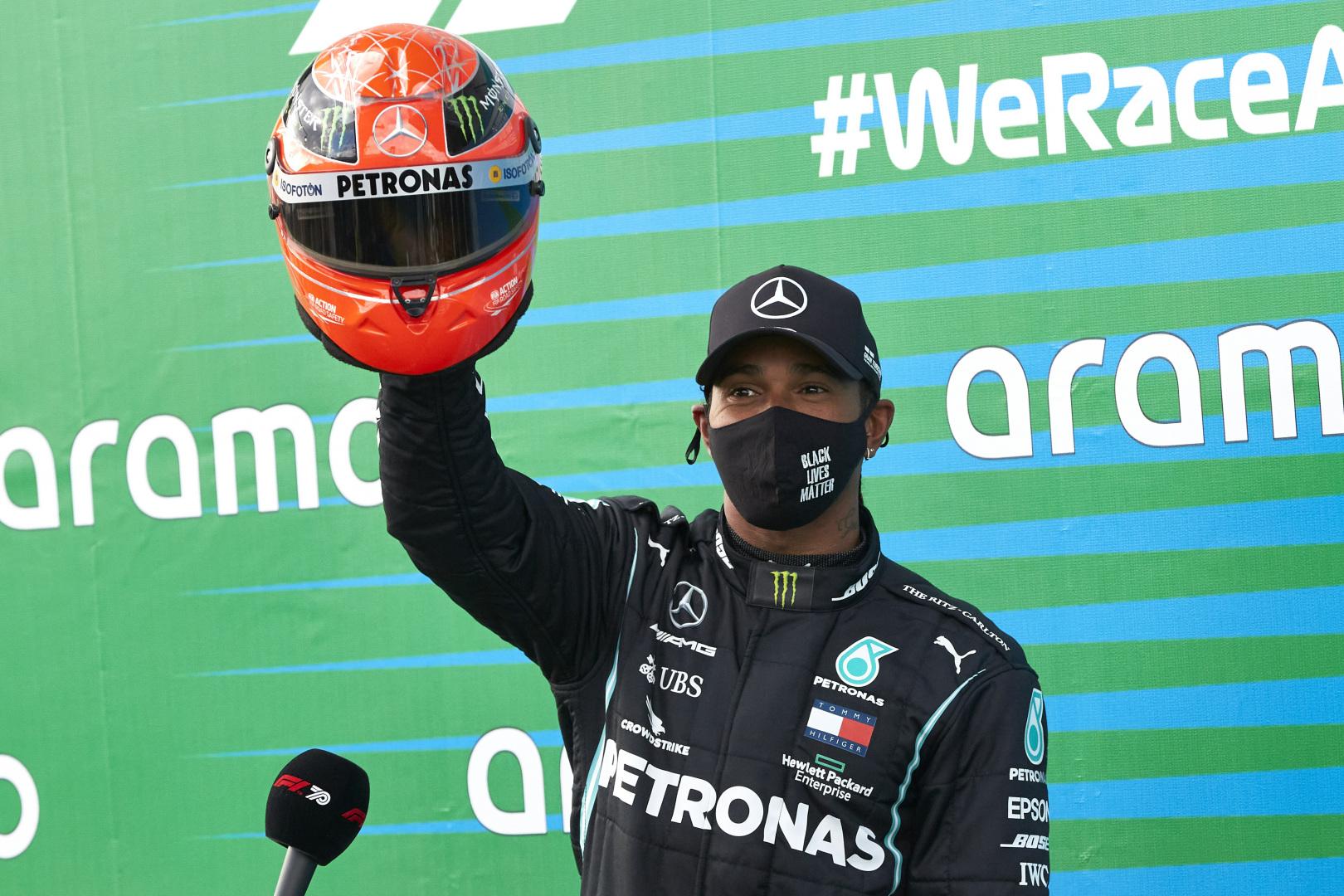 F. Massa: M. Schumacheris dirbo sunkiau, bet L. Hamiltonas pranoksta talentu