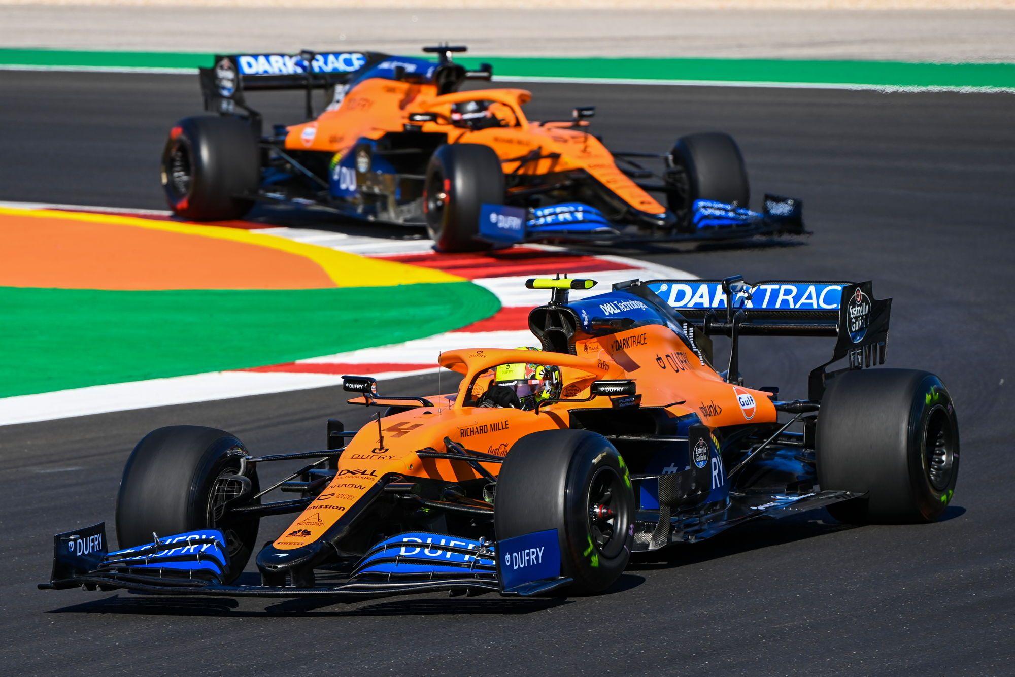 "Sezono rezultatai: ""McLaren Racing"""