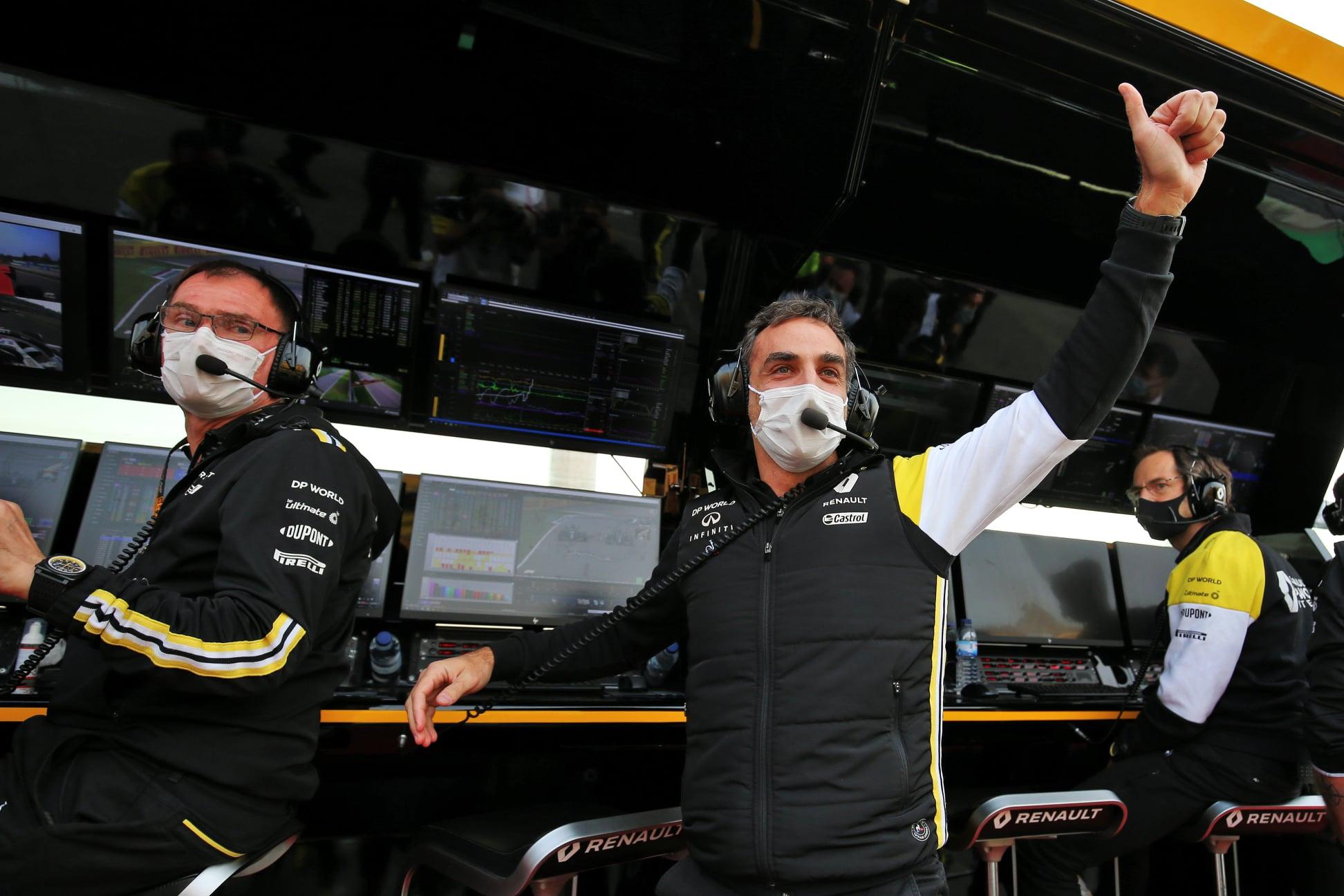 "C. Abiteboulas palieka ""Renault"""
